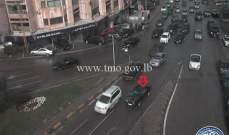 تعطل سيارة محلة الحايك باتجاه المكلس وحركة المرور ناشطة في المحلة