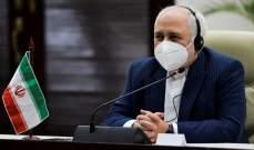 ظريف: قادة الدول الأوروبية الثلاث لم يفعلوا شيئا للحفاظ على الاتفاق النووي