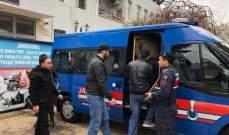 الأمن التركي ضبط 10 مهاجرين غير نظاميين في ولاية وان شرقي تركيا