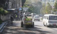 النشرة: وزارة الاشغال باشرت أعمال الصيانة والتأهيل لطريق عام حبوش
