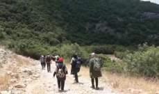 """مجموعة """"اكتشف عكار"""" نظمت رحلة مسير بيئي في قلب وادي زبقين"""
