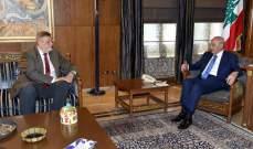 بري استقبل كوبيتش وسفير بريطانيا وتلقى برقية تهنئة من نظيره التونسي