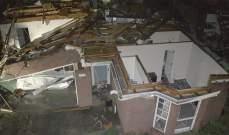 قتيل و5 جرحى على الأقل نتيجة إعصار ضرب ولاية ألاباما الأميركية