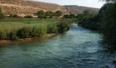 غرق طفلين سوريين في مجرى نهر الغزيل والصليب الاحمر نقل جثتيهما