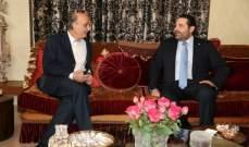 مصادر معراب للجمهورية: قنوات الاتصال المعتمدة بين جعجع والحريري تعمل باستمرار