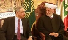 هاشم: في كل الأزمات وأيا تكن التعددية نحن متكاملون لما فيه مصلحة لبنان