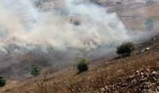 إخماد حريق حرج في وادي هنين وآخر شب بأعشاب يابسة في تلال بدنايل