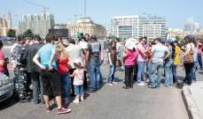 العسكريون المتقاعدون المعتصمون يطالبون بلقاء وزير الدفاع في السراي