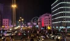 تدافع بين الجيش والمتظاهرين عند جسر الرينغ