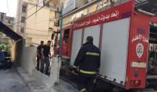 الدفاع المدني يخمد حريقاً شب بأعشاب يابسة في مستيتا