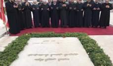 دريان من ضريح رفيق الحريري: وحدة اللبنانيين تقوم على تقدمهم وريادتهم