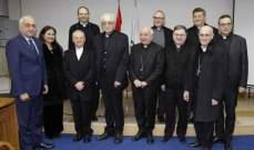رئيس معهد يوحنا بولس الثاني الحبري اللاهوتي لعلوم الزواج والعائلة حاضر في جامعة الحكمة