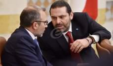 LBC: اجتماع بين باسيل والحريري سيعقد في الساعات المقبلة