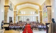 احتفال بمدرسة بيت شربل في دير مار شربل حاريصا بالذكرى الـ41 لاعلان مار شربل قديسا