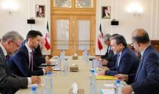 عراقجي التقى باريزك: نافذة الدبلوماسية الإيرانية لاتزال مفتوحة
