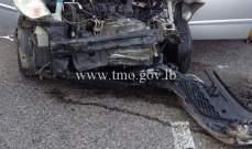 التحكم المروري: 19 جريحا في 12 حادث وقعوا خلال لـ24 ساعة الماضية