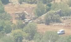 قوات اسرائيل تتوغل بالجرافات داخل اراضي الفلسطينيين جنوب قطاع غزة
