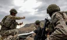 """الدفاع التركية: عملية """"مخلب النمر"""" ضد """"بي كاكا"""" بشمالي العراق مستمرة بنجاح"""