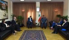 اللواء عثمان بحث مع شورتر كيفية تعزيزعلاقات التعاون والتنسيق بين البلدين