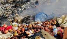 مجهولون أحرقوا أكواما من النفايات قرب نبع السكر في جرود الضنية