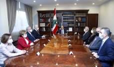 الرئيس عون شدد على دور مجلس القضاء الاساسي في عملية مكافحة الفساد وإحقاق الحق والعدالة
