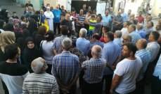 اعتصام احتجاجي للجان الشعبية والاحياء في عين الحلوة