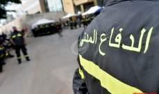 الدفاع المدني اللبناني: جريحان على طريق عام الصياد الكرنتينا
