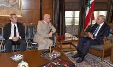 بري التقى مستشار وزارة الدفاع البريطانية وعرض معه الاوضاع العامة