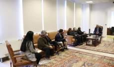 عبود التقى لجنة عوائل شهداء انفجار مرفأ بيروت