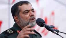 قائد عسكري ايراني: شعار الموت لاميركا يعني الموت للارهاب الاقتصادي