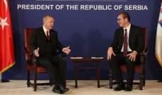 رئيس صربيا: وقعنا اتفاقية مع تركيا بشأن التعاون في مجال الأمن والدفاع