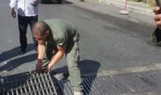 فوج حرس بيروت: توقيف شخصين خلال محاولتهما سرقة غطاء ريغار