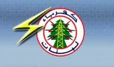 """""""كهرباء لبنان"""": عزل مخرجَين في محطة سبلين الرئيسية بين 23 شباط و5 آذار"""