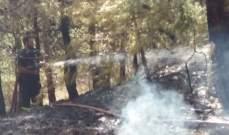 اندلاع حريق في خراج بلدة النخلة والدفاع المدني يعمل على إخماده