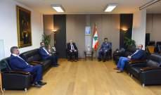 اللواء عثمان بحث مع رئيس بلدية طرابلس أمور تتعلق بالمدينة