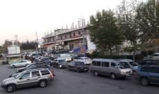 قطع طريق في سعدنايل احتجاجاً على اضراب محطات الوقود