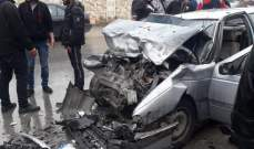 النشرة: سقوط قتيلين بحادث سير على اوتوستراد اللبوة
