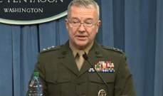 ماكينزي: ملتزمون بدعم الجيش اللبناني ووجودنا شمال سوريا مرتبط بإنهاء وجود داعش