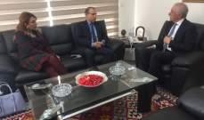 وزير الزراعة استقبل السفير المصري ونوقشت الروزنامة الزراعية بين البلدين