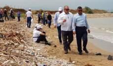 الحملة الوطنية لتنظيف شاطىء عكار تتواصل