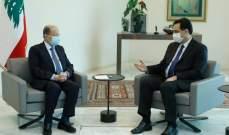 عون ودياب وقعا مرسوم قبول استقالة حتي ومرسوم تعيين شربل وهبة وزيراً للخارجية