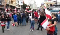 مواطنون تجمعوا امام سرايا زغرتا وسرايا الهرمل