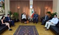 اللواء عثمان استقبل مديرة مكتب برنامج الأمم المتحدة الإنمائي في لبنان