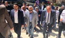 أرسلان زار الشيخين أبو سليمان الصايغ وأنور الصايغ وجال في قرى الجرد الأعلى