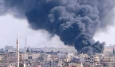 المرصد السوري: مقتل 10 مدنيين في قصف جوي للنظام السوري على إدلب