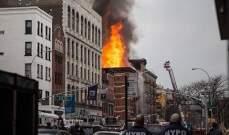 القضاء الفرنسي يتّهم امرأة تعاني من امراض نفسية بافتعال حريق مبنى في باريس