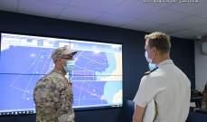 الجيش: تنفيذ تمارين ونشاطات مشتركة مع الفرقاطة الفرنسية AUVERGNE