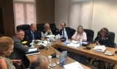لجنة متابعة تنفيذ القوانين اطلعت على ما تم إنجازه من مراسيم تطبيقية
