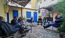 نواب لبنان القوي زاروا جمعية تجار الاشرفية: لتعويضهم جراء انفجار 4 آب