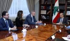 كوبيش اطلع الرئيس عون على المداولات الاخيرة بمجلس الامن حول القرار 1701